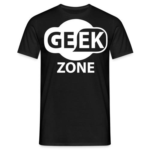 T-SHIRT GEEK ZONE  - T-shirt Homme