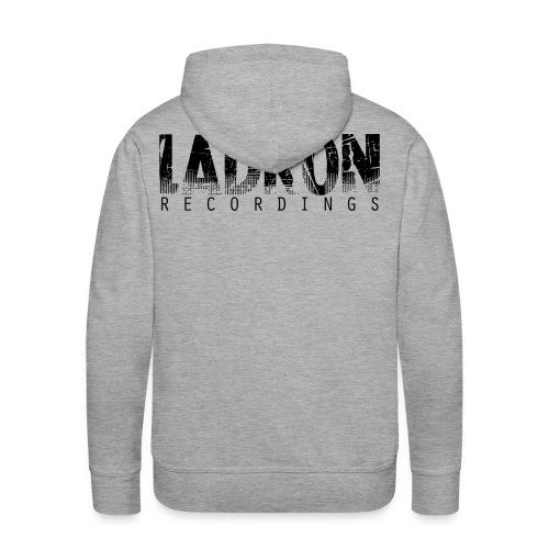 Ladron Hoody Grå - Premiumluvtröja herr