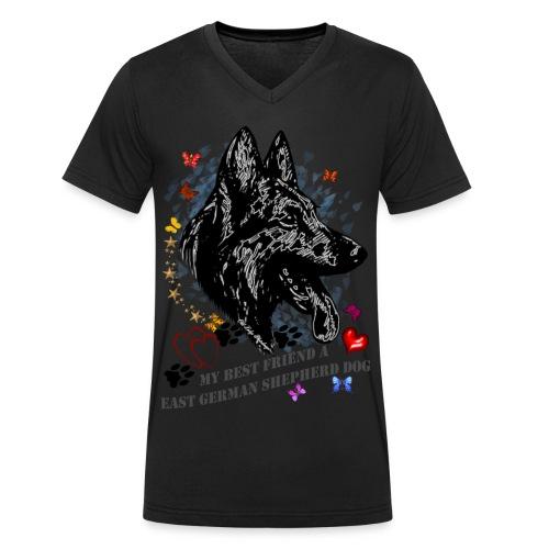 DSH-Profil - Männer Bio-T-Shirt mit V-Ausschnitt von Stanley & Stella