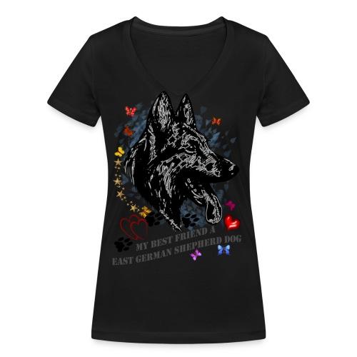 DSH-Profil - Frauen Bio-T-Shirt mit V-Ausschnitt von Stanley & Stella