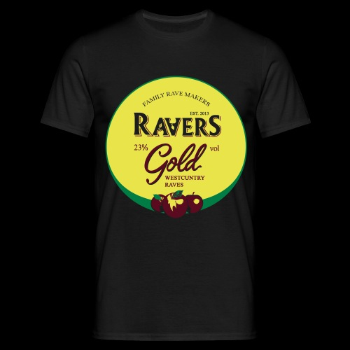 RAVERS GOLD TSHIRT - Men's T-Shirt