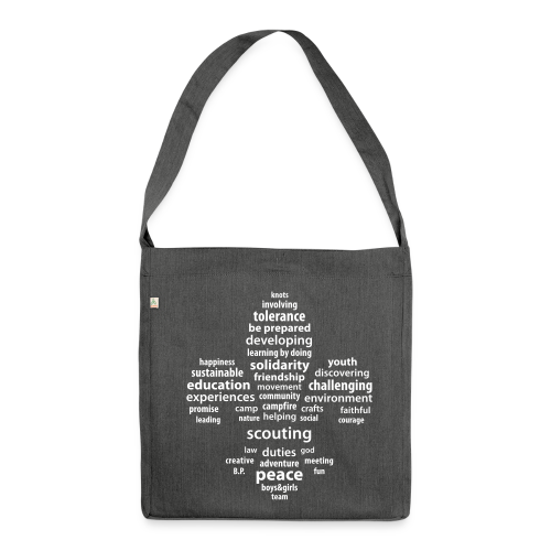 Scouting is.. -  Bag - Shoulder Bag made from recycled material