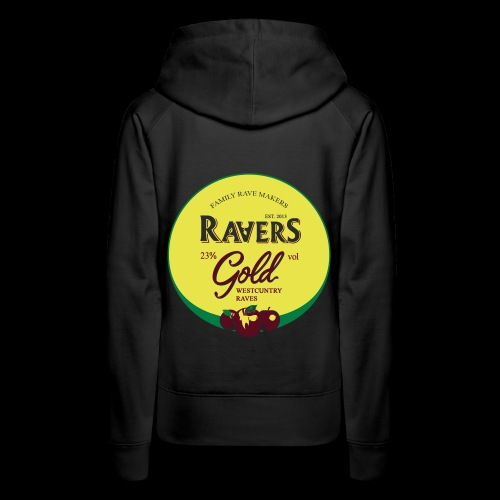 RAVERS GOLD HOOD - Women's Premium Hoodie