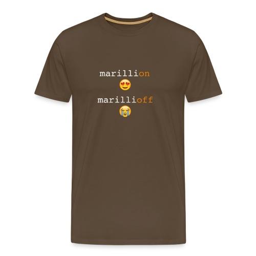 MarilliON/OFF - Men's Premium T-Shirt