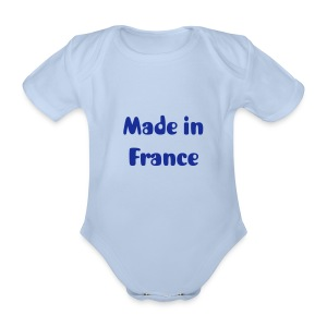 Body made in france - Body bébé bio manches courtes