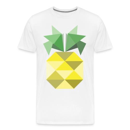 annanas  - Premium-T-shirt herr