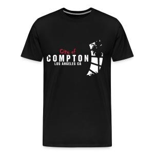 T-shirt - City of Compton LA - Premium-T-shirt herr