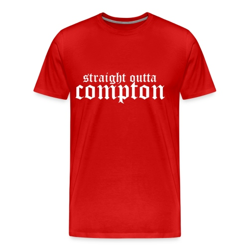 T-shirt - Straight Outta Compton - Premium-T-shirt herr