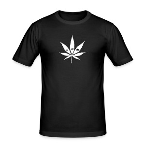 Männer Slim Fit T-Shirt - Official Smoke Weed and More Merchandise