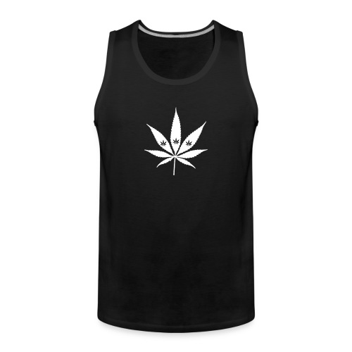 Smoke Weed and More | Männer Tank Top - Männer Premium Tank Top
