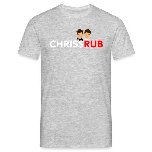 CHRISSRUB - Menn - T-skjorte for menn