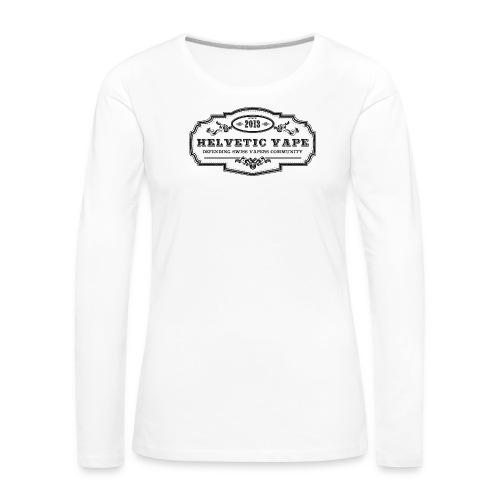 Helvetic Vape - T-shirt manches longues Premium Femme