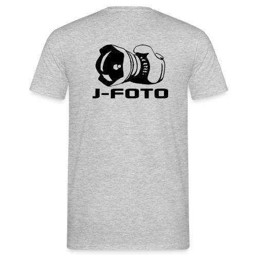 j-foto, t-paita - Miesten t-paita