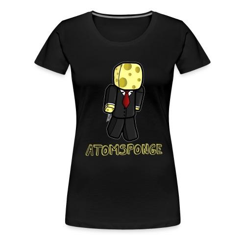 Atomsponge girly - Frauen Premium T-Shirt