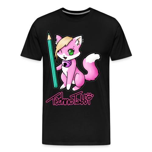 TechnoTabbi - Männer Premium T-Shirt