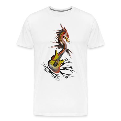 GUITARE POWER DRAGON - T-shirt Premium Homme