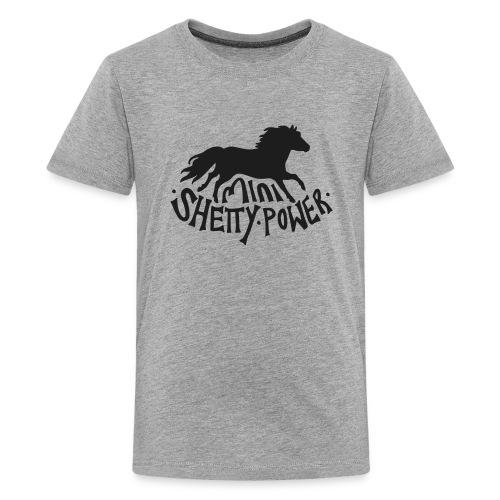 Mini Shetty Power - Teenager Premium T-Shirt