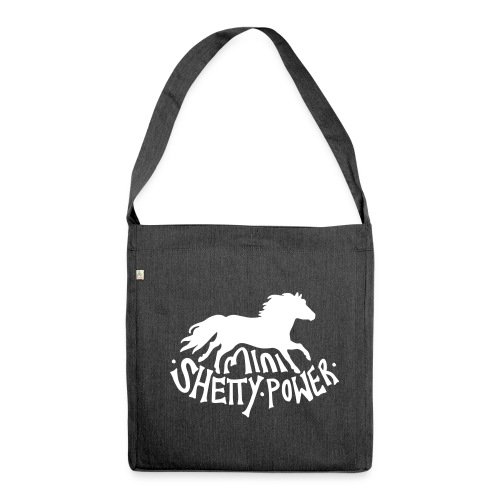 Mini Shetty Power  - Schultertasche aus Recycling-Material