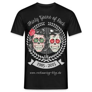 RaR - 30 Years of Rock (Front) - Männer T-Shirt