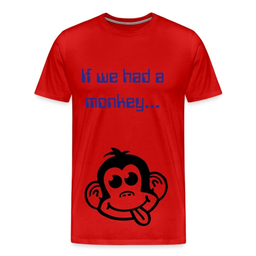 Benefit's of monkeys - Men's Premium T-Shirt