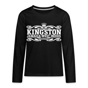 Långärmad T-shirt  - Kingston - Långärmad premium-T-shirt tonåring