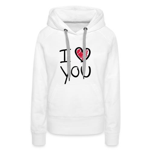 Vrouwen Sweater - Capuchon - Vrouwen Premium hoodie