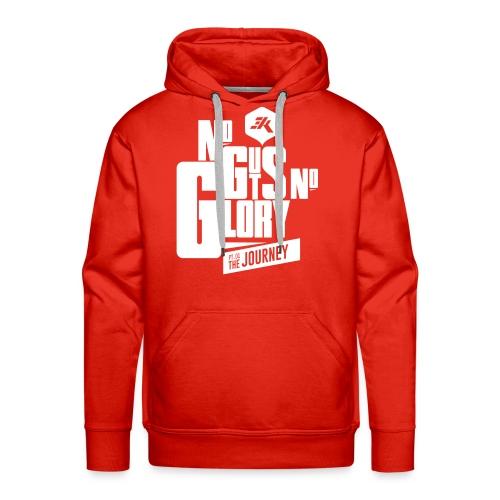 NGNG: WHITE / Red - Men's Premium Hoodie
