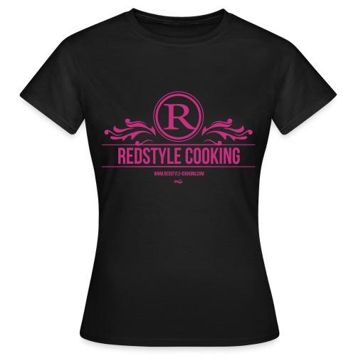 Redstyle Cooking Ladies Shirt - Frauen T-Shirt
