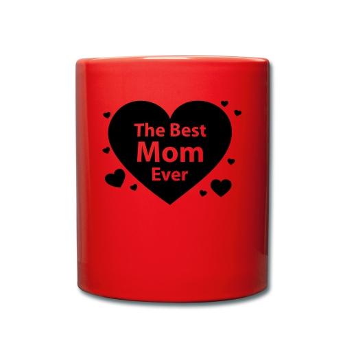 Beste Mamma - Ensfarget kopp