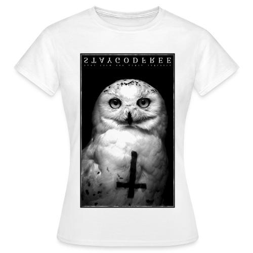 tee-shirt hiboux  - T-shirt Femme