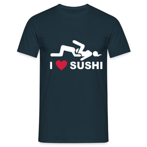I Love Sushi Classic - T-shirt herr