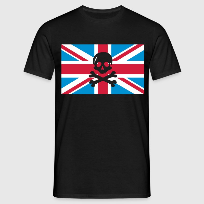 Skull And Bones Union Jack; Union Jack T-Shirts - Men's T-Shirt