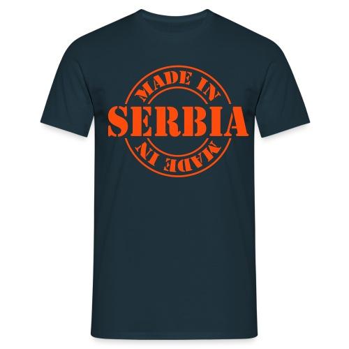 Made in Serbia shirt  - Männer T-Shirt