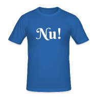 T-Shirts ~ Männer Slim Fit T-Shirt ~ Nu!