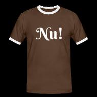 T-Shirts ~ Männer Kontrast-T-Shirt ~ Nu!