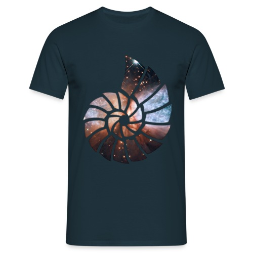 Kosmische Spirale - Herren T-Shirt - Männer T-Shirt
