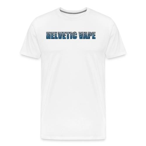 Helvetic Vape - T-shirt Premium Homme