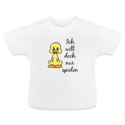 T-Shirt Spielen - Baby T-Shirt