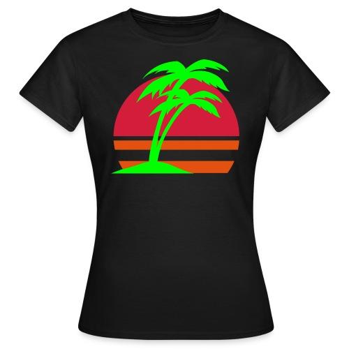 Koszulka damska - Havaii - Koszulka damska