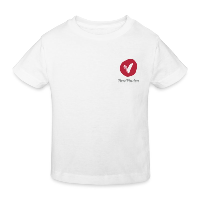 HerzPiraten Kinder-Bio T-Shirt - Kleiner Pirat mit Herz - Kinder Bio-T-Shirt