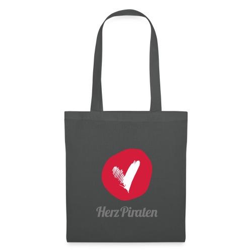 HerzPiraten Shopping Bag   - ..Lass mich dein Pirat sein - Stoffbeutel