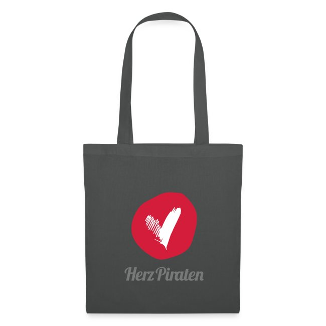 HerzPiraten Shopping Bag   - ..Lass mich dein Pirat sein