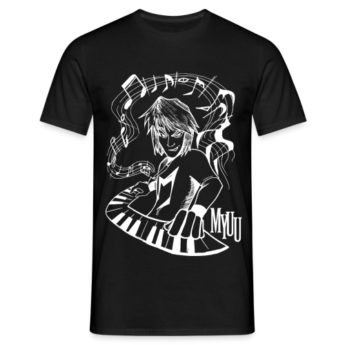 Classic Black ♂ - Men's T-Shirt