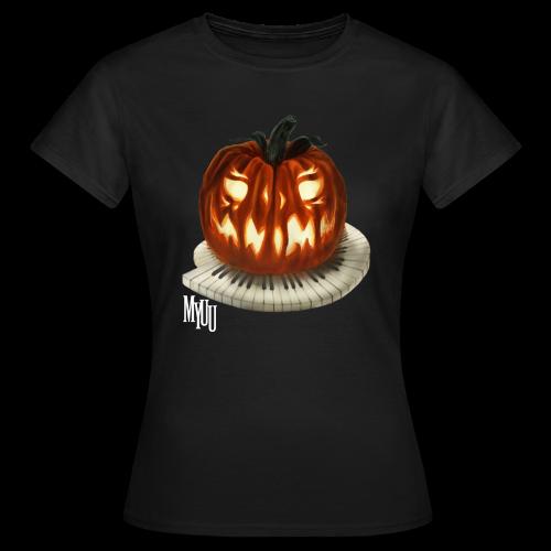 Piano Pumpkin ♀ - Women's T-Shirt