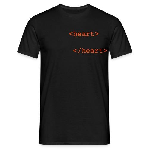 Heart - Männer T-Shirt