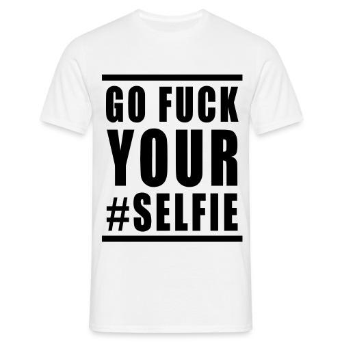 Go F*ck Your Selfie Classic - T-shirt herr