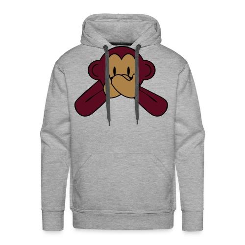 ''ZWIJG'' Mannen sweater - Mannen Premium hoodie