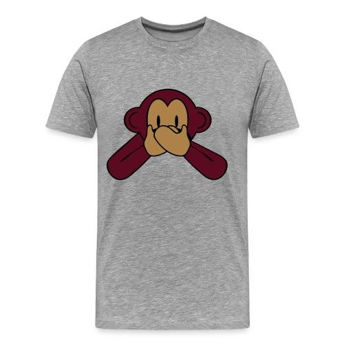 ''ZWIJG'' Mannen T-Shirt - Mannen Premium T-shirt