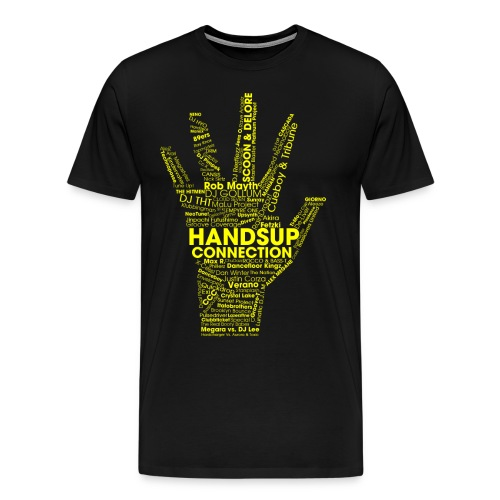 huc_001_yellow - Men's Premium T-Shirt