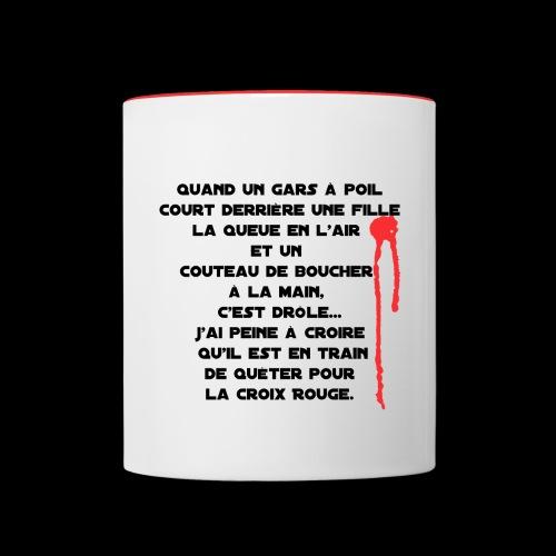 harry quete - Mug contrasté